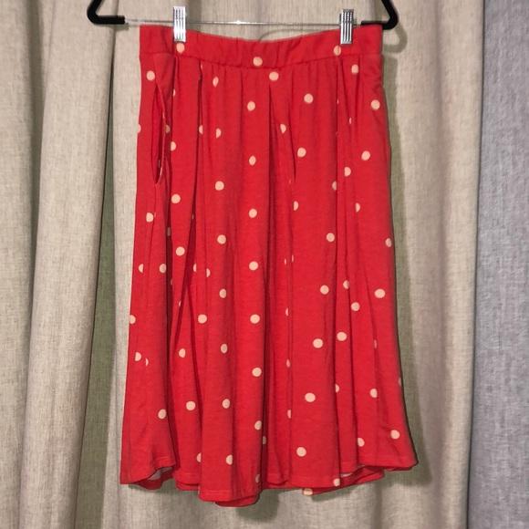 LulaRoe skirt with pockets